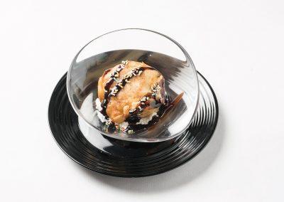 TAPA POSTRE: Helado Frito (Chuc-Choc)