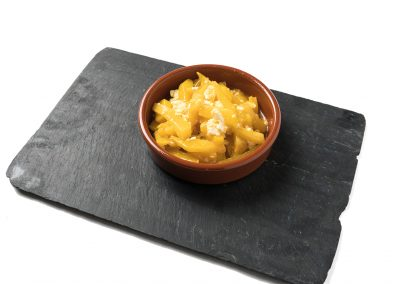 CAZOLETA: Huevos de Pilar Huevos estrellados (patata y huevo). Apta Celíacos