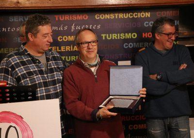 Reconocimiento a  Javier García Bosque