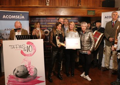 Premio a la Calidad en el Servicio, patrocinado por Heraldo de Aragón, para Cafetería Jaizkibel.jaca