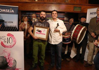 Premio Mejor Tapa-Cazoleta Celíacos: CAZÓN DE LAMCOME de La Ribera