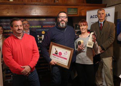 2º Premio mejor Cazoleta. Jurado técnico: UNA DE BORRAJA MÁS de Restaurante Lilium