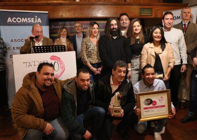 1º Premio mejor Cazoleta. Jurado técnico: MINI TUBI de Bar Marbore