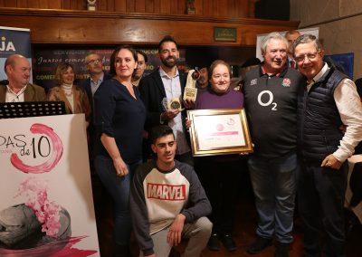 2º Premio Mejor Tapa. Jurado técnico: MINI AIRBAG DE QUESO de Bodegas Langa Vinoteca