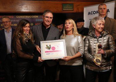 Premio mejor Tapa-Cazoleta elaborada con productos de la tierra Km0. Jurado técnico: PROFIEROL PYRINEA de Cafetería Jaizkibel