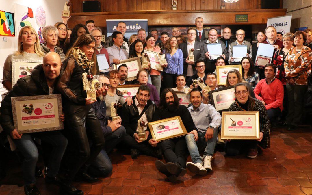 Ganadores del XIII Concurso de Tapas y Cazoletas de la Jacetania
