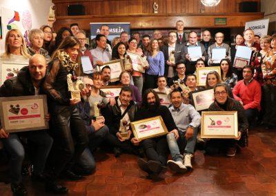 ganadores del XIII Concurso de Tapas y Cazoletas de la Jacetania de Acomseja